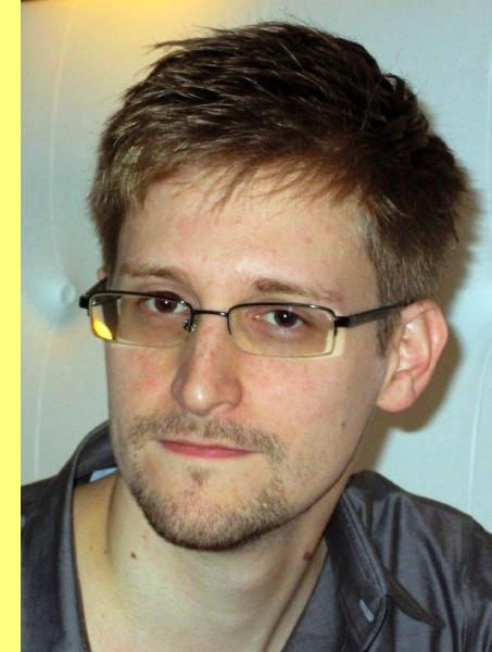 NSA whistleblower Edward Snowden, an analyst with a U.S. defence contractor, is pictured during an interview with the Guardian in his hotel room in Hong Kong